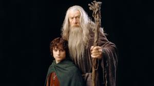 Gandalf e Frodo del Signore degli Anelli