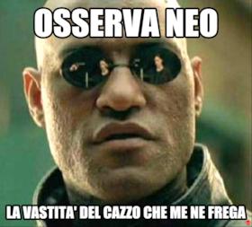 OSSERVA NEO LA VASTITA' DEL CAZZO CHE ME NE FREGA