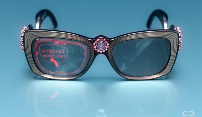 Concept di Google Glass by Prada