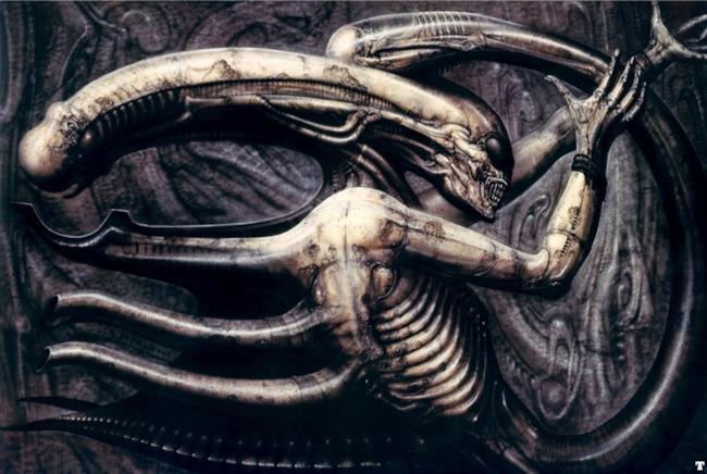 Ispirazione per il character design di Alien