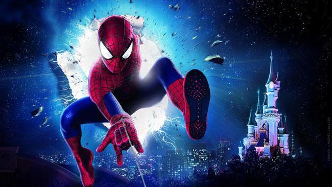 Il gruppo dei supereroi Marvel si prepara ad arrivare a Disneyland, Spider-Man in prima linea