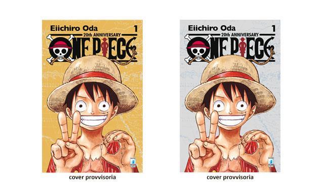 La ristampa del numero uno di One Piece in edizione limitata