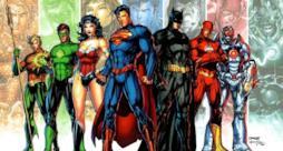 Le immagini di alcuni personaggi DC