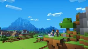 Un frame tratto dal gioco Minecraft