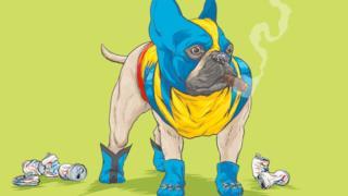 Wolverine in versione bulldog