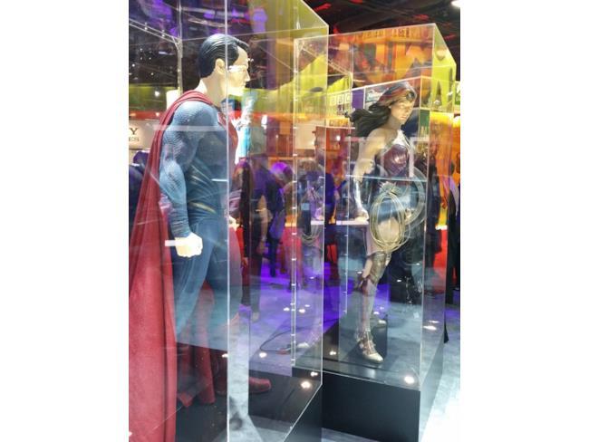 I costumi di Superman e Wonder Woman in Dawn of Justice