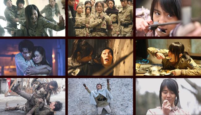 Alcune immagini dalla serie TV live-action dell'Attacco dei Titani