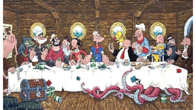 Ultima Cena - The Last Supper (Leonardo da Vinci) - 1
