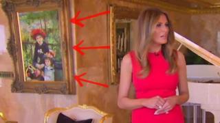 Melania Trump e il Renoir falso