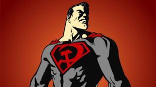 """Superman """"rosso"""" dal fumetto di Millar"""