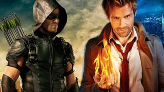 Arrow e John Constantine
