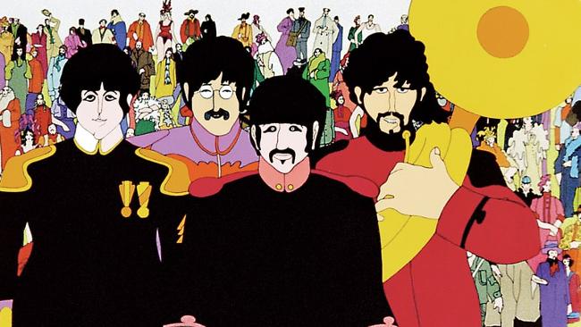 I Beatles nel film d'animazione Yellow Submarine