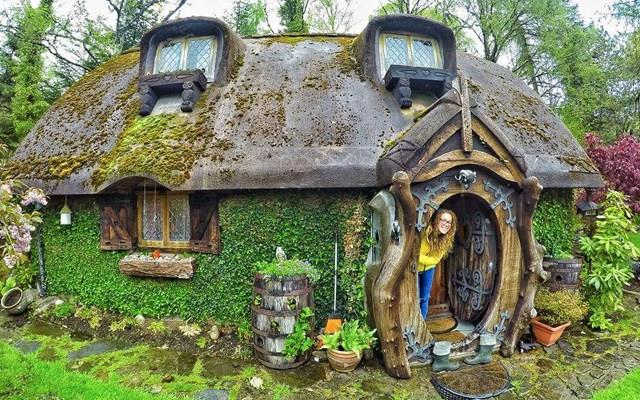 La casa di una fan dello Hobbit in Scozia