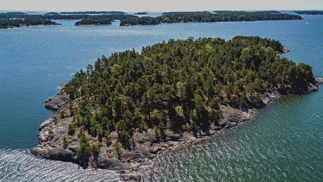 Un'immagine dell'isola finlandese