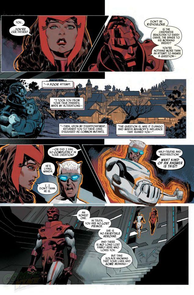 Quisksilver e Scarlet Witch non sono più mutanti: la verità in Uncanny Avengers #4