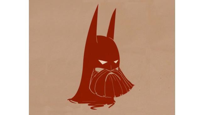 Batman barbuto
