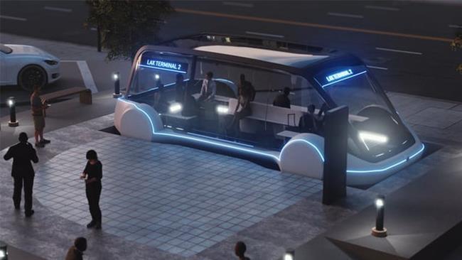 Un'immagine esemplificativa del progetto del loop cittadino