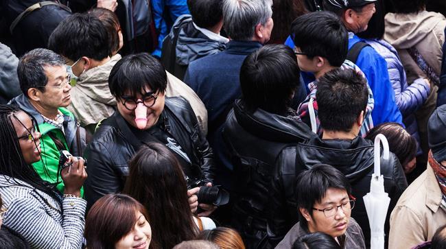Feste in Giappone per celebrare il pene