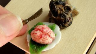 Un teschio vuoto ed un cervello fresco