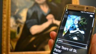 Smartify ti permette di scannerizzare e riconoscere le varie opere d'arte
