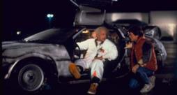La DeLorean in Ritorno al Futuro