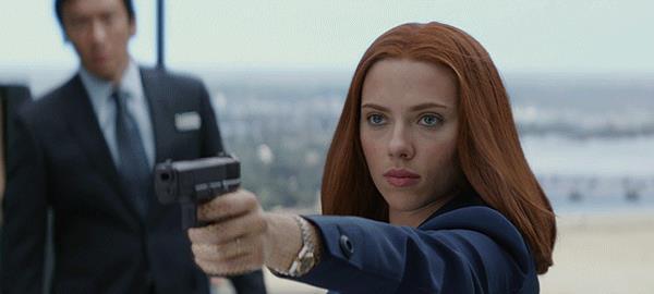 GIF di Black Widow