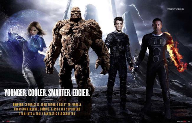 Il team del reboot di Fantastic Four - I Fantastici Quattro