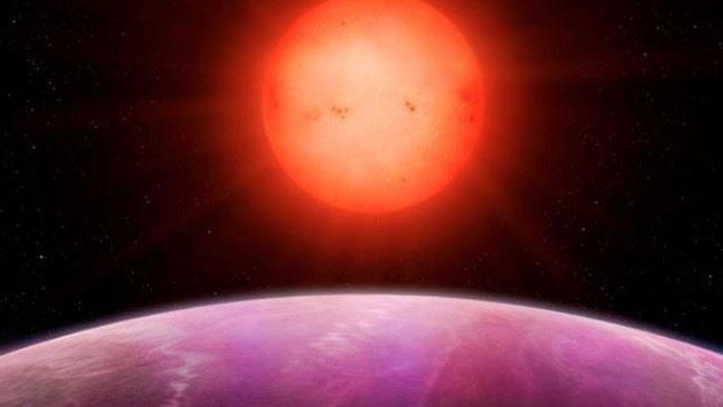 Ecco come dovrebbe apparire la stella vista dal pianeta