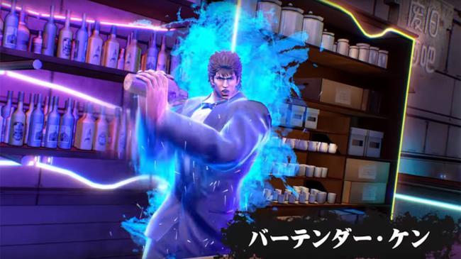 Kenshiro in una scena del gioco