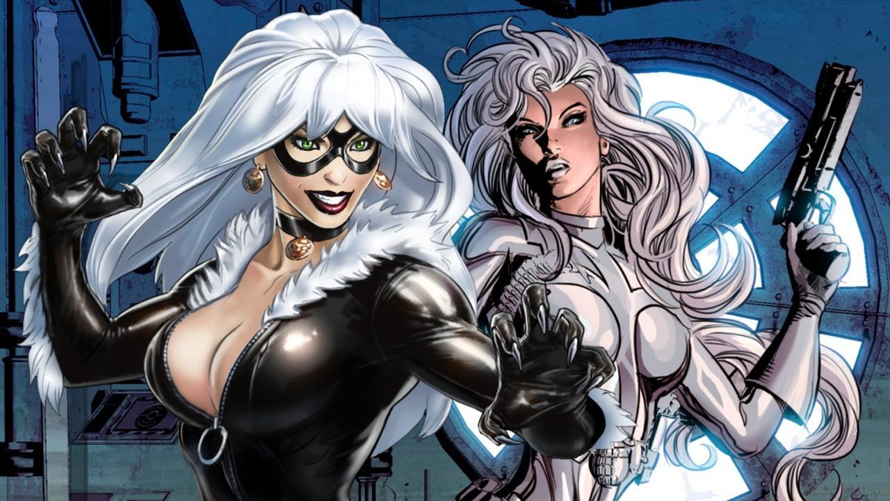 Black Cat e Silver Sable