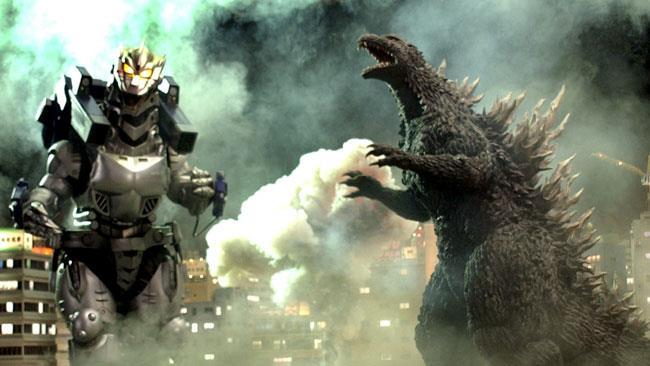 Godzilla in uno dei film passati