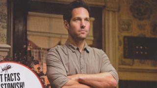 Paul Rudd sarà Scott Lang, protagonista di Ant-Man