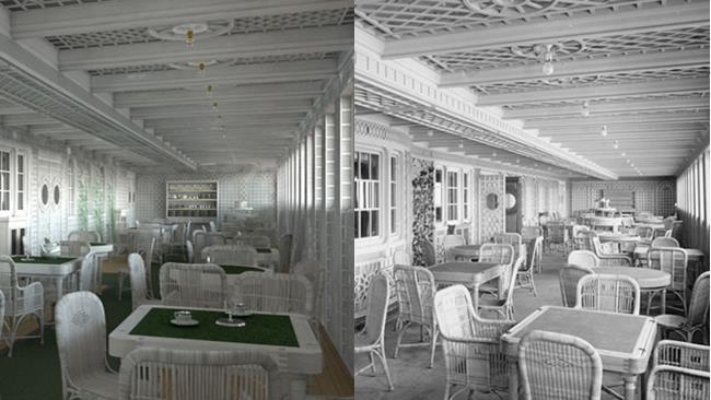 Caffè del Titanic e del nuovo Titanic Due