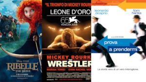 La locandina di tre dei film consigliati