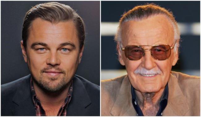 DiCaprio, a sinistra, e Lee, a destra.