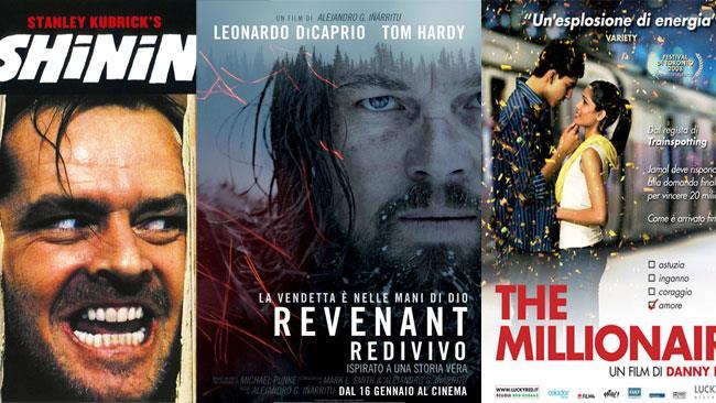 Film consigliati da vedere in tv nel week end - collage di locandine