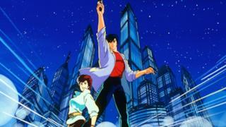 Nicky Larson nella sua versione anime francese.