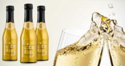Le bottiglie di Sparkling Gold