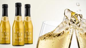 Le bottiglie di Sparkling Gold