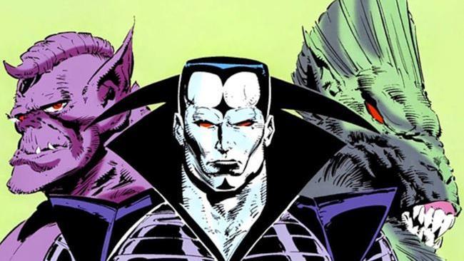 Il trio dei villain