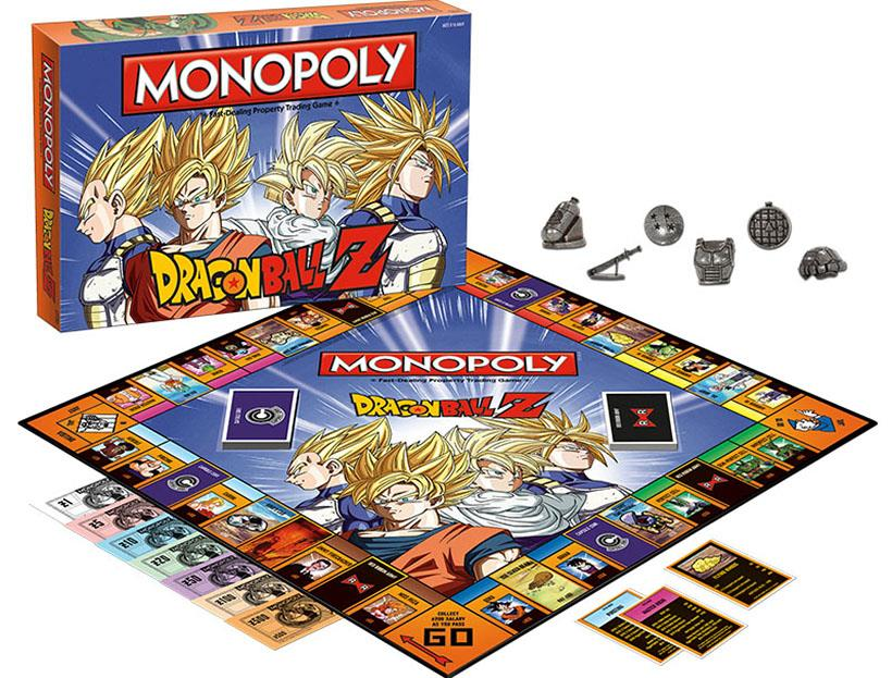 gioco da tavolo Monopoly DragonBall Z
