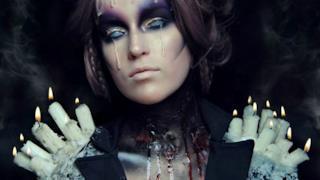 Makeup con candele e cera