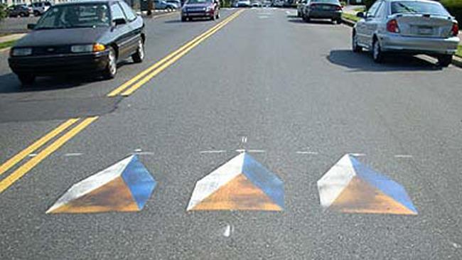 Disegni stradali 3D Philadelphia