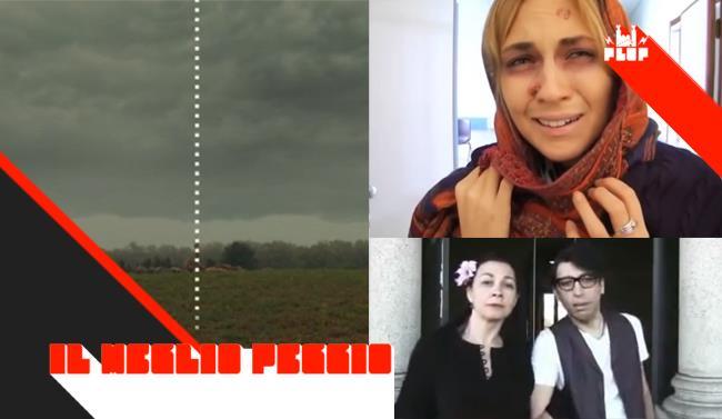 Copertina con i primi tre video più visualizzati della settimana su FlopTV