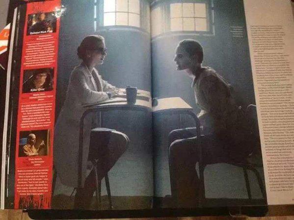 Nuove immagini del Joker in Suicide Squad