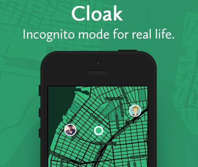 Immagine dell'app mobile Cloak