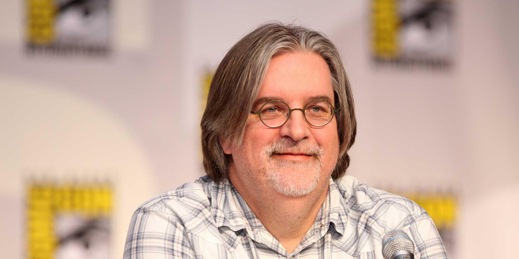 Il fumettista americano durante il Comic-Con