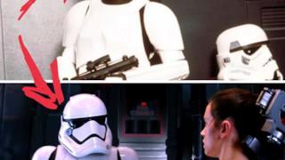 Una scena di Star Wars: Il risveglio della Forza