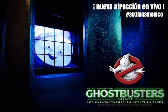 La live experience dedicata ai Ghostbusters sarà in Messico