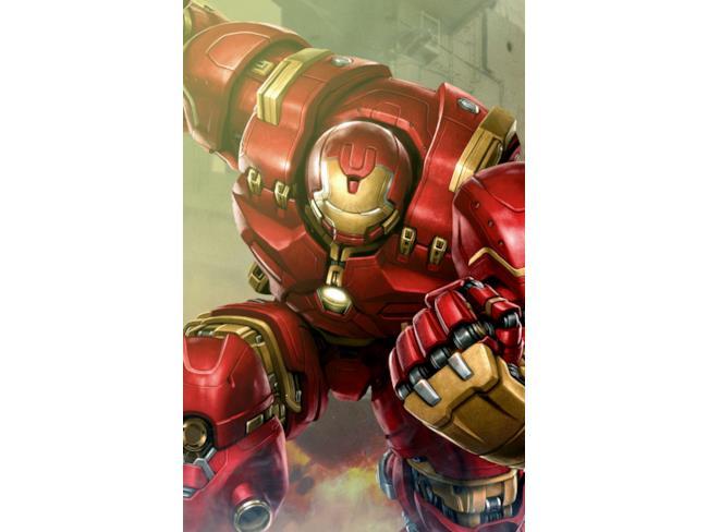 Avengers: Age of Ultron concept art Hulkbuster